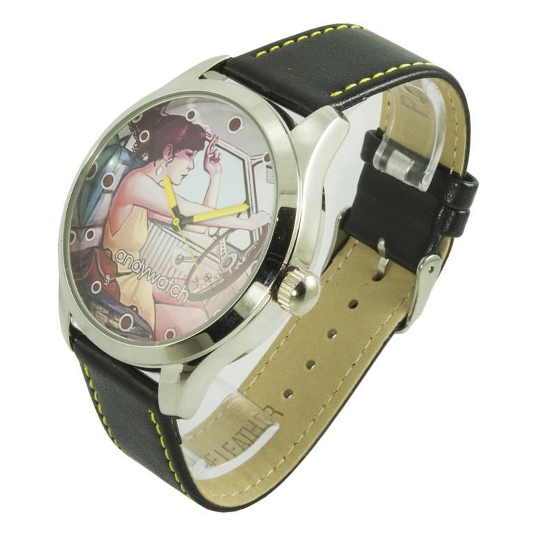 Наручные часы с большим циферблатом AW 404 Милая девушка Песочин - изображение 1